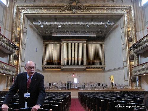 Symphony Hall Boston Free Tours