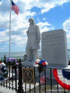 Korean War Memorial at Castle Island