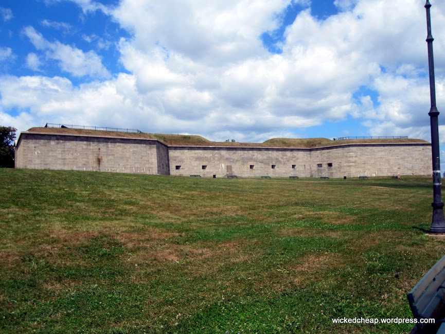 Fort Independence at Castle Island