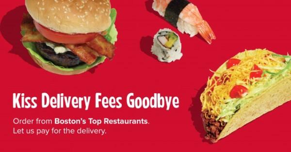 grubHub Delivery Boston