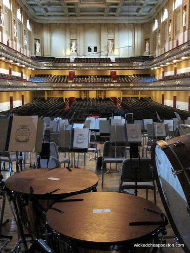 Boston Symphony Hall Free Tour