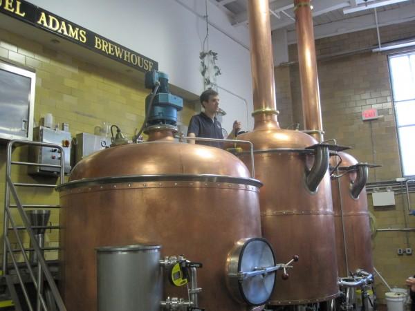 Sam Adams Brewery Tour