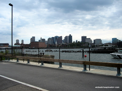 View of Boston from Charlestown, MA
