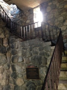 Wright's Tower Inside Stairwell