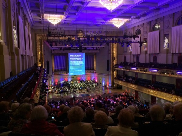 Boston Pops Concert Symphony Hall