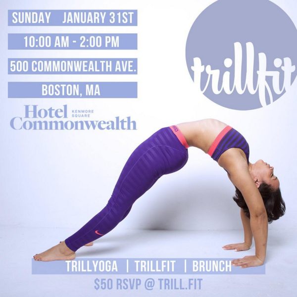 TRILLFIT Brunch & Burn in Boston