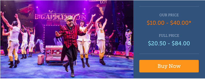 Cheap Tickets to Big Apple Circus in Boston