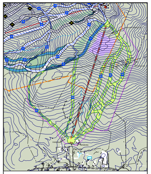 Mount Sunapee West Bowl Expansion Trail Map