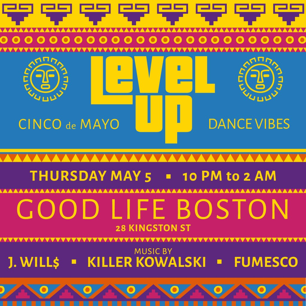 LevelUp Boston Cinco de Mayo Party at Good Life Bar