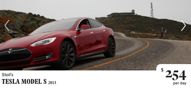 Turo Tesla Rental in Boston