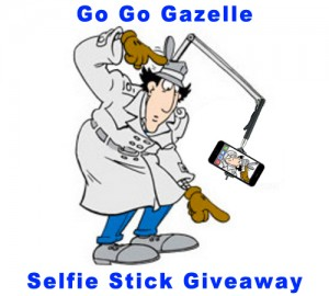Wicked Cheap Boston Gazelle Selfie Stick Giveaway