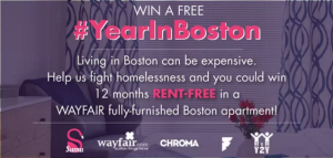 Win a Rent Free Year in Boston