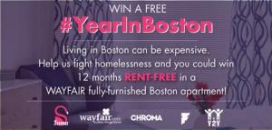 Win a Rent Free Year in Boston